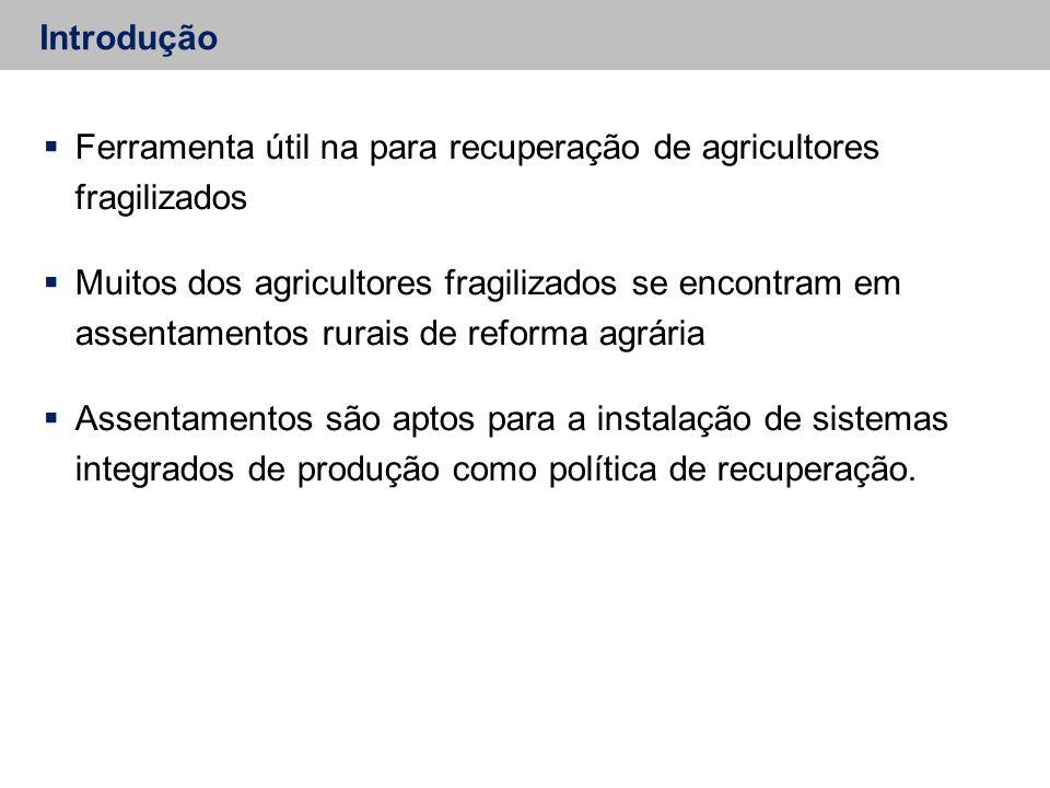 Ferramenta útil na para recuperação de agricultores fragilizados