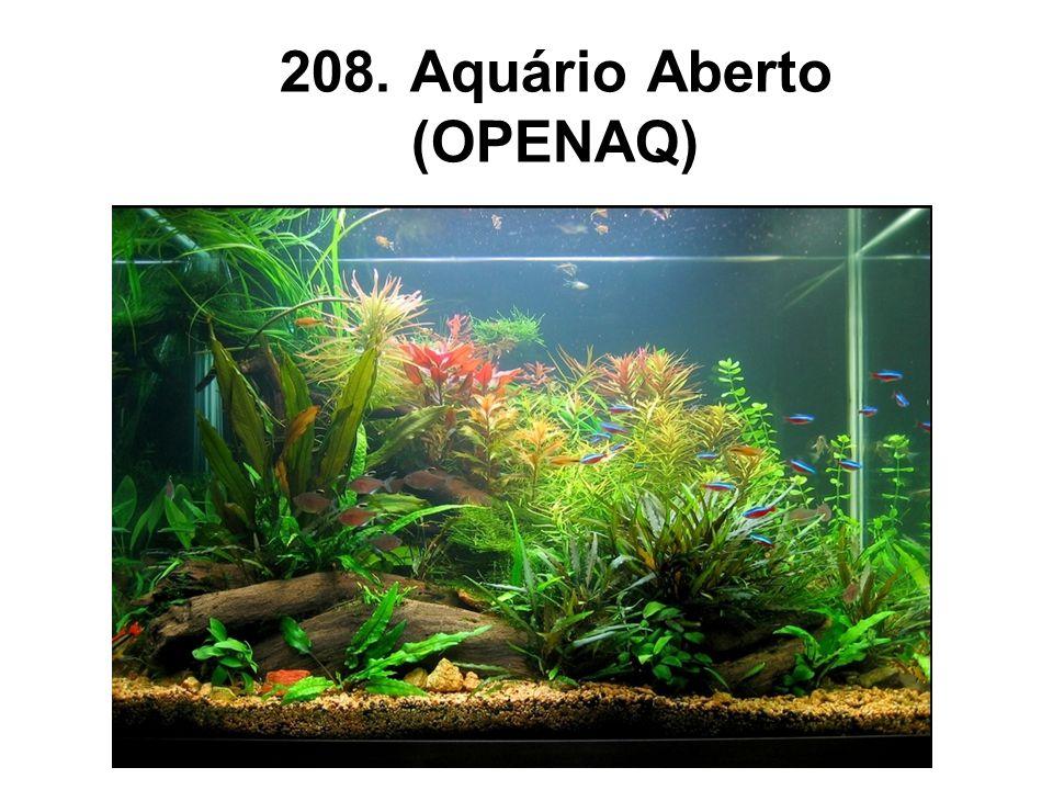 208. Aquário Aberto (OPENAQ)