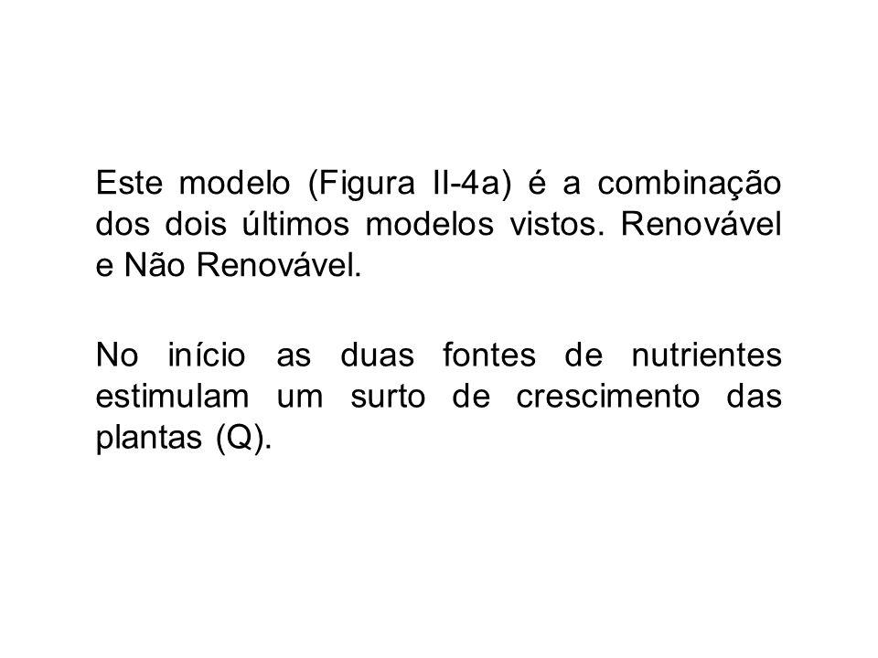 Este modelo (Figura II-4a) é a combinação dos dois últimos modelos vistos. Renovável e Não Renovável.