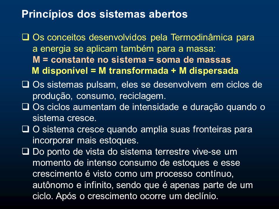 Princípios dos sistemas abertos