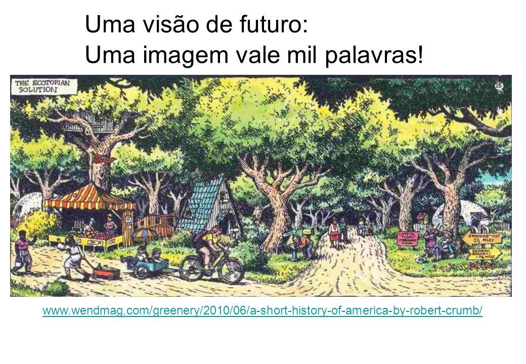 Uma visão de futuro: Ecotopia Uma imagem vale mil palavras!