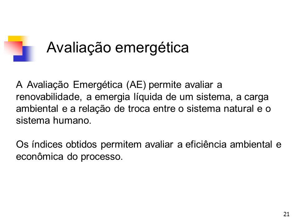 Avaliação emergética