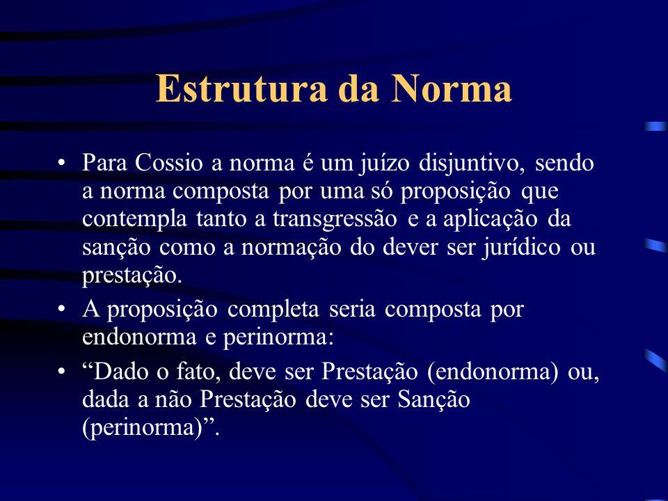 Estrutura da Norma