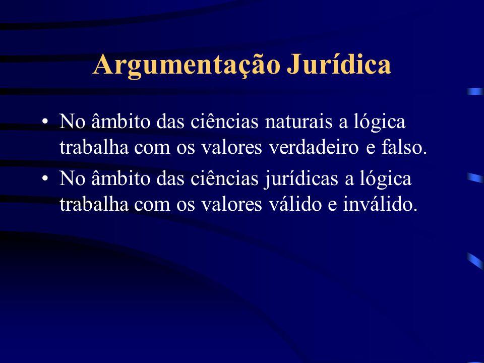 Argumentação Jurídica