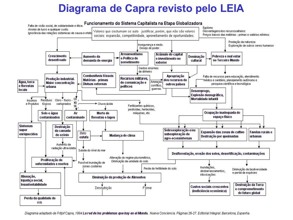 Diagrama de Capra revisto pelo LEIA