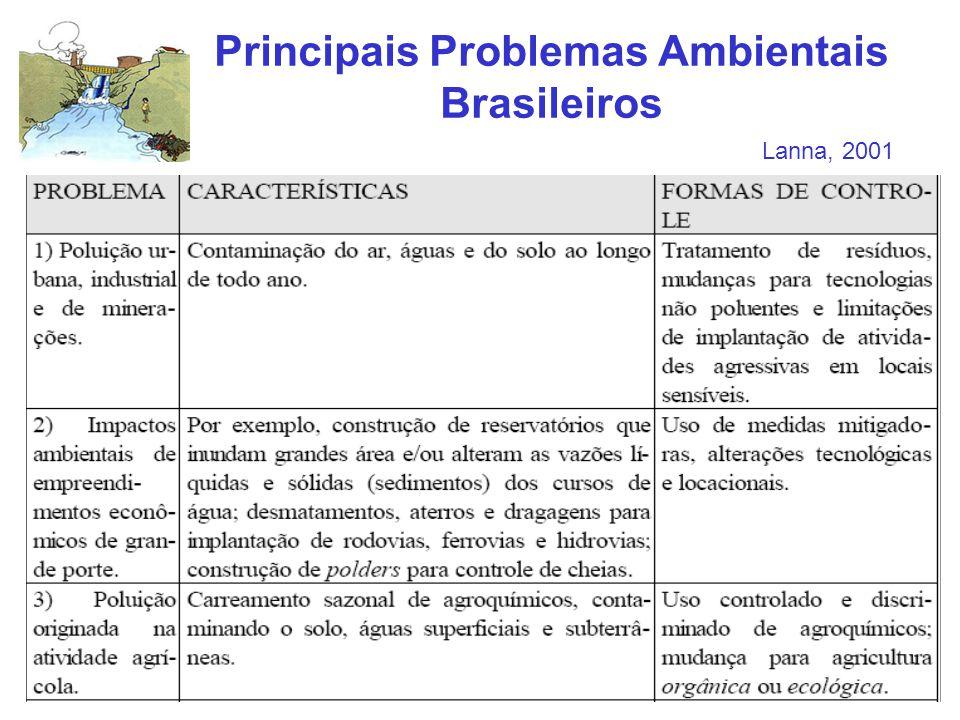 Principais Problemas Ambientais Brasileiros