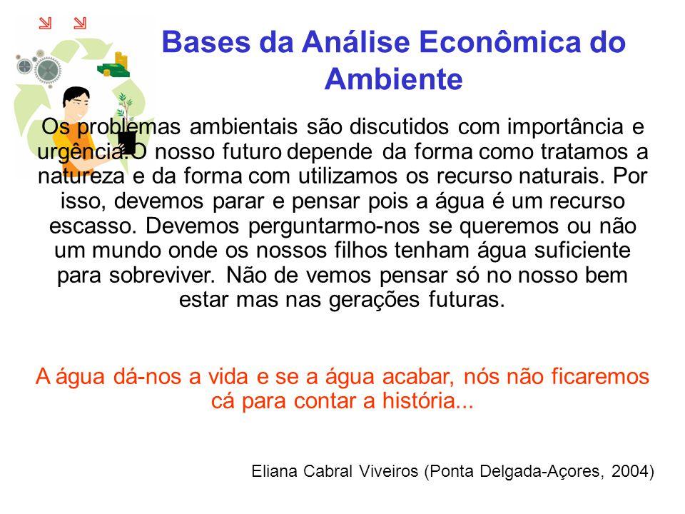 Bases da Análise Econômica do Ambiente