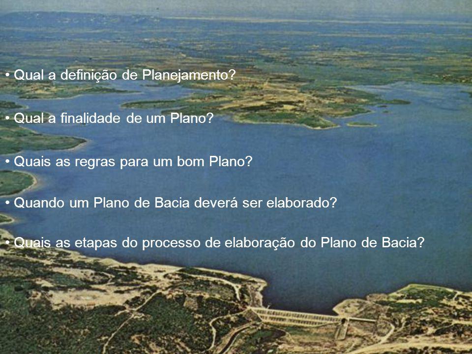 Qual a definição de Planejamento