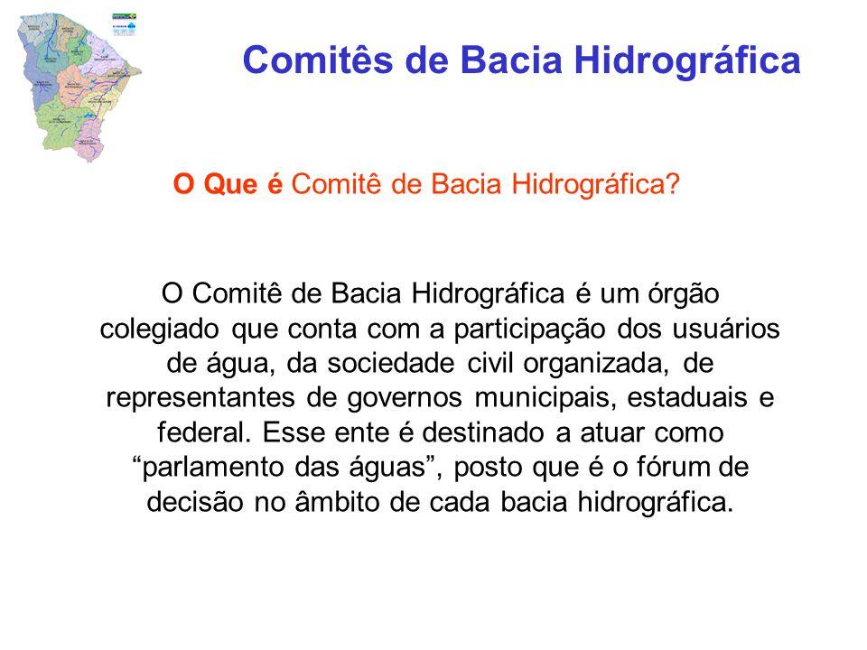 Comitês de Bacia Hidrográfica
