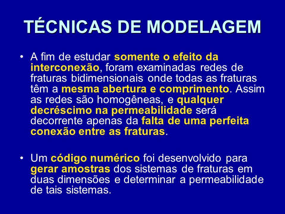 TÉCNICAS DE MODELAGEM