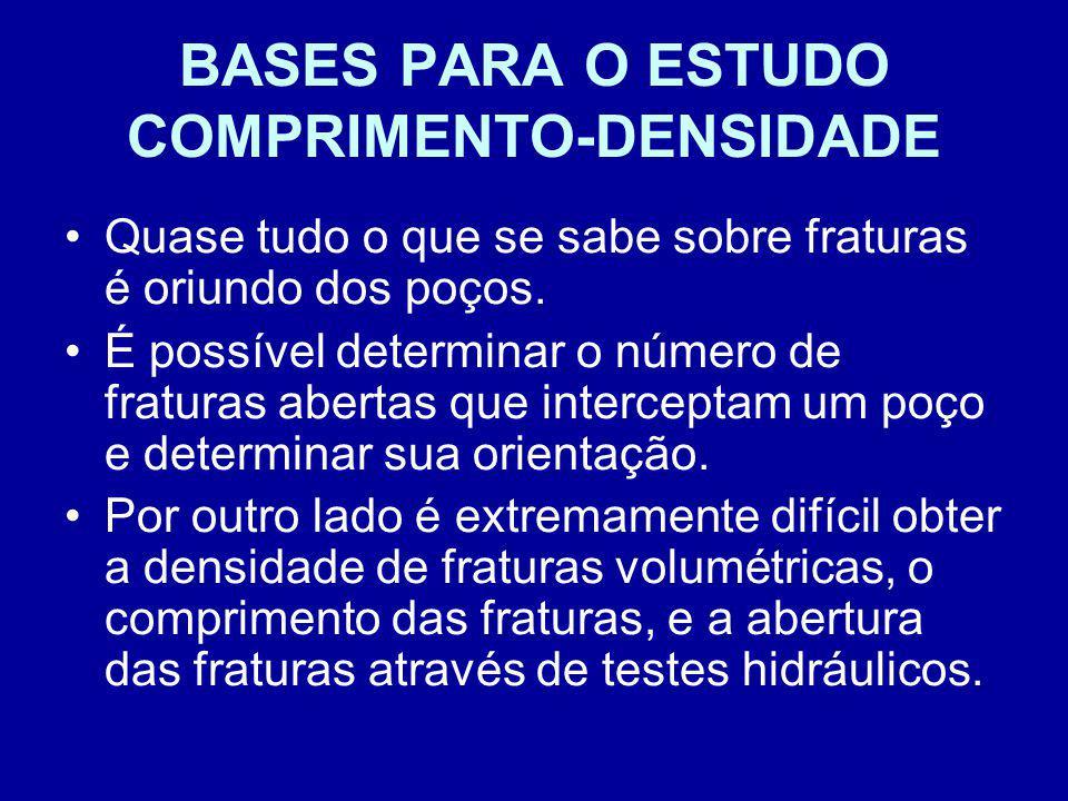 BASES PARA O ESTUDO COMPRIMENTO-DENSIDADE