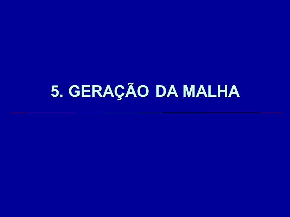 5. GERAÇÃO DA MALHA