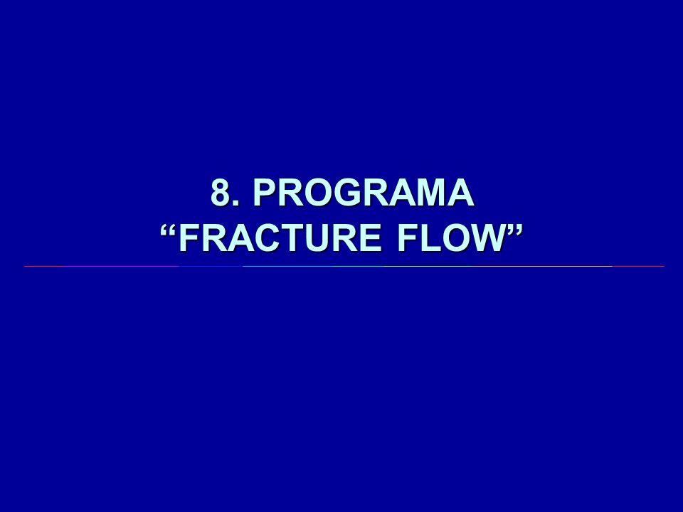 8. PROGRAMA FRACTURE FLOW