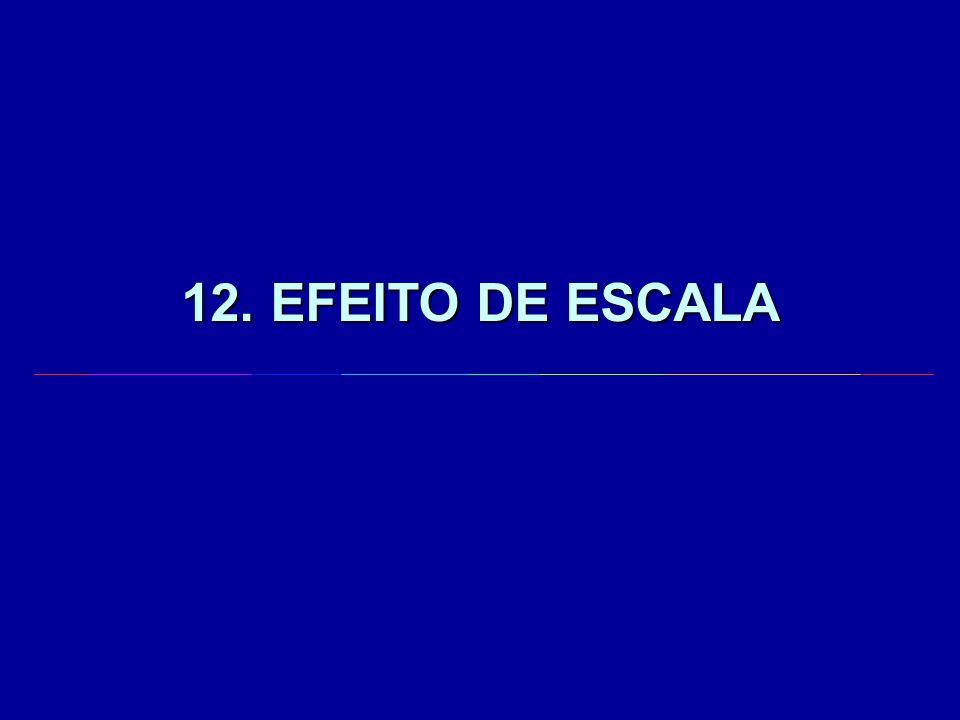 12. EFEITO DE ESCALA