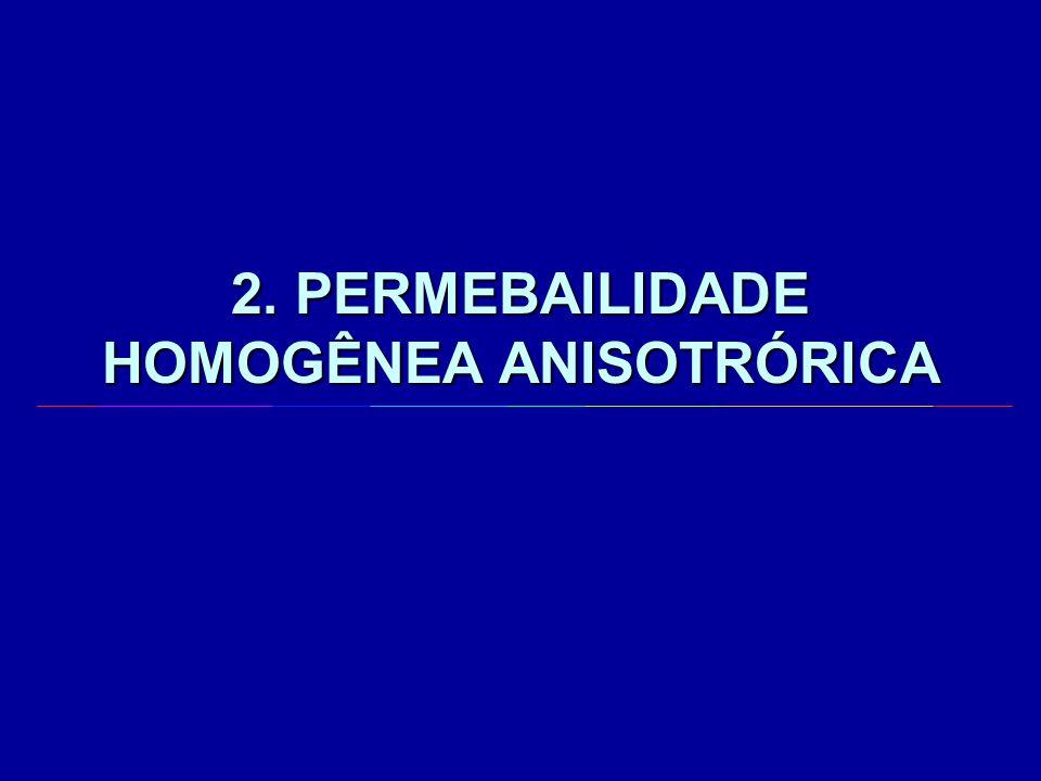 2. PERMEBAILIDADE HOMOGÊNEA ANISOTRÓRICA