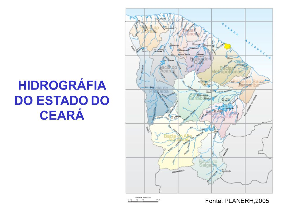 HIDROGRÁFIA DO ESTADO DO CEARÁ