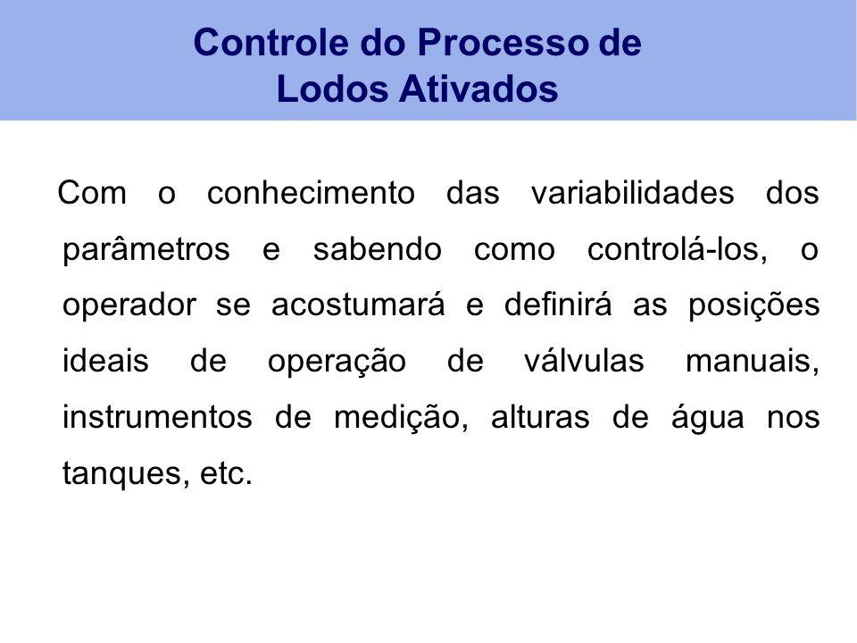 Controle do Processo de Lodos Ativados