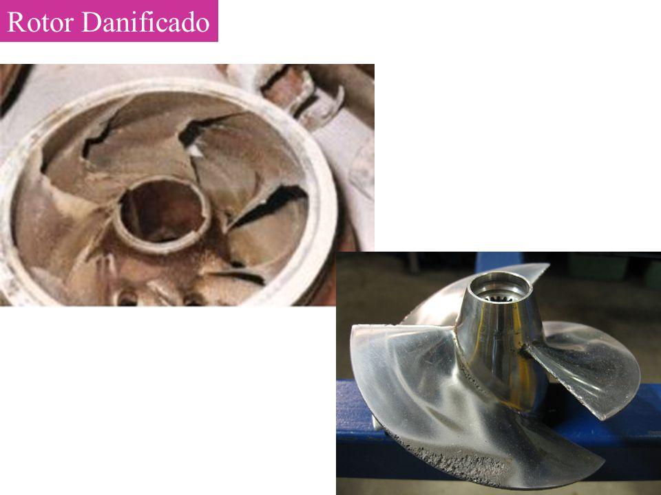 Rotor Danificado
