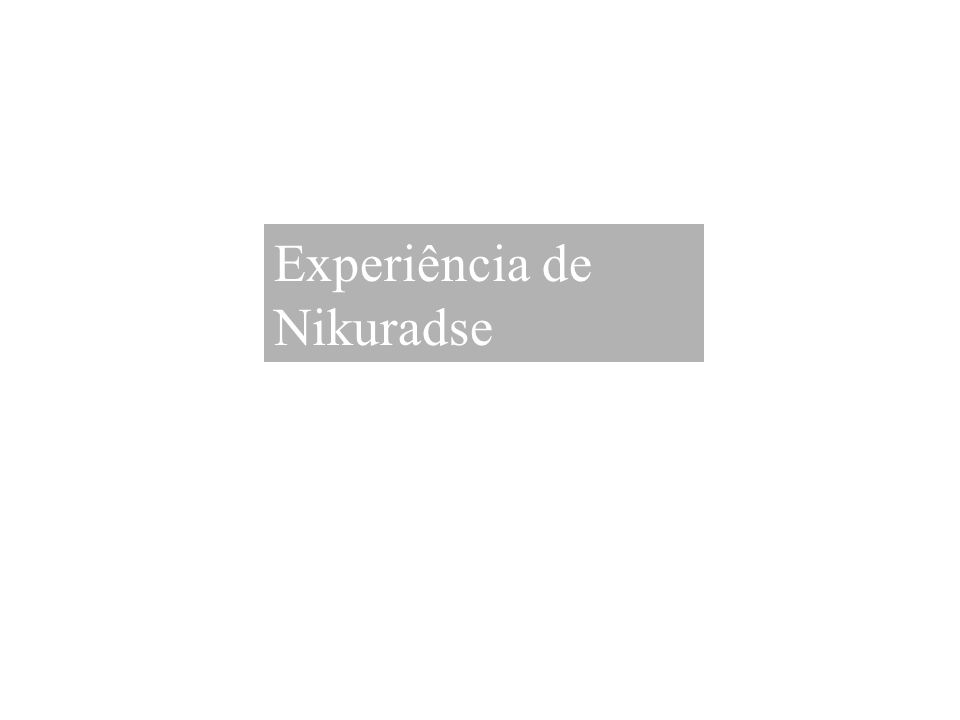 Experiência de Nikuradse
