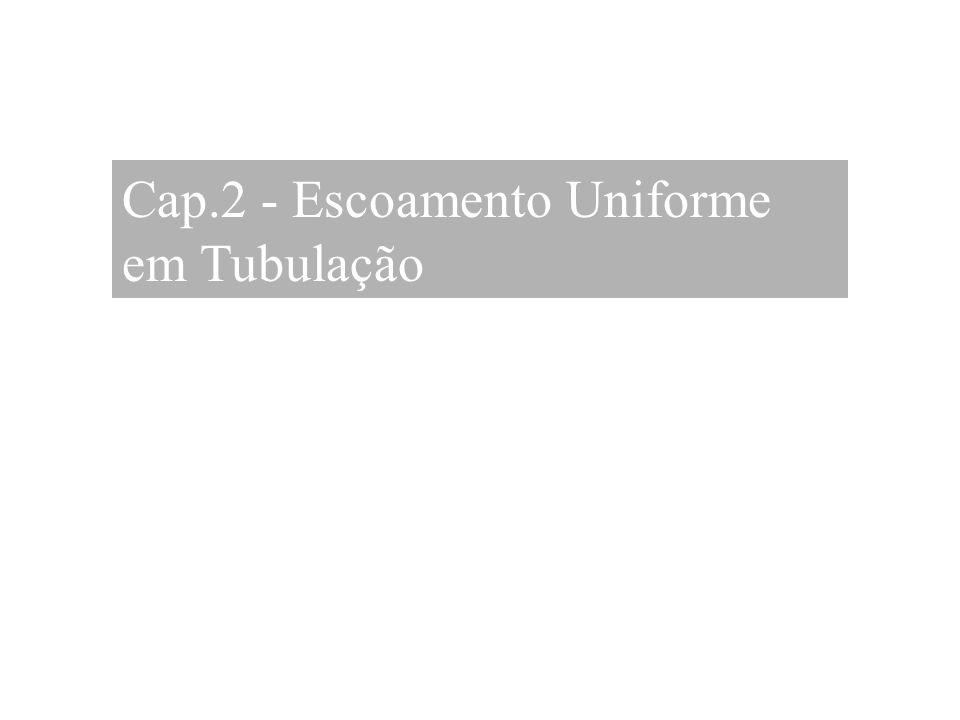 Cap.2 - Escoamento Uniforme em Tubulação