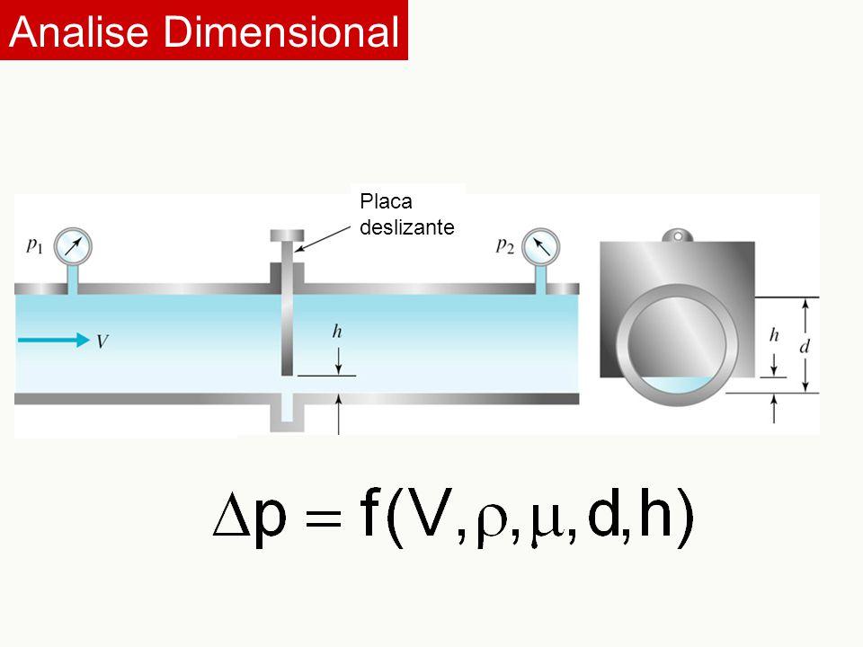 Analise Dimensional Placa deslizante