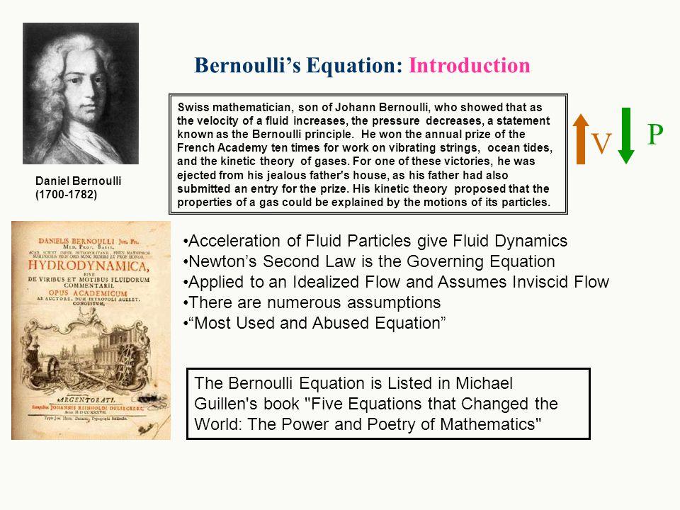 P V Bernoulli's Equation: Introduction