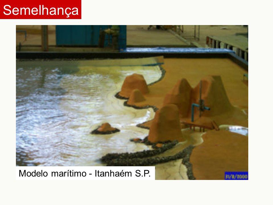 Semelhança Modelo marítimo - Itanhaém S.P.