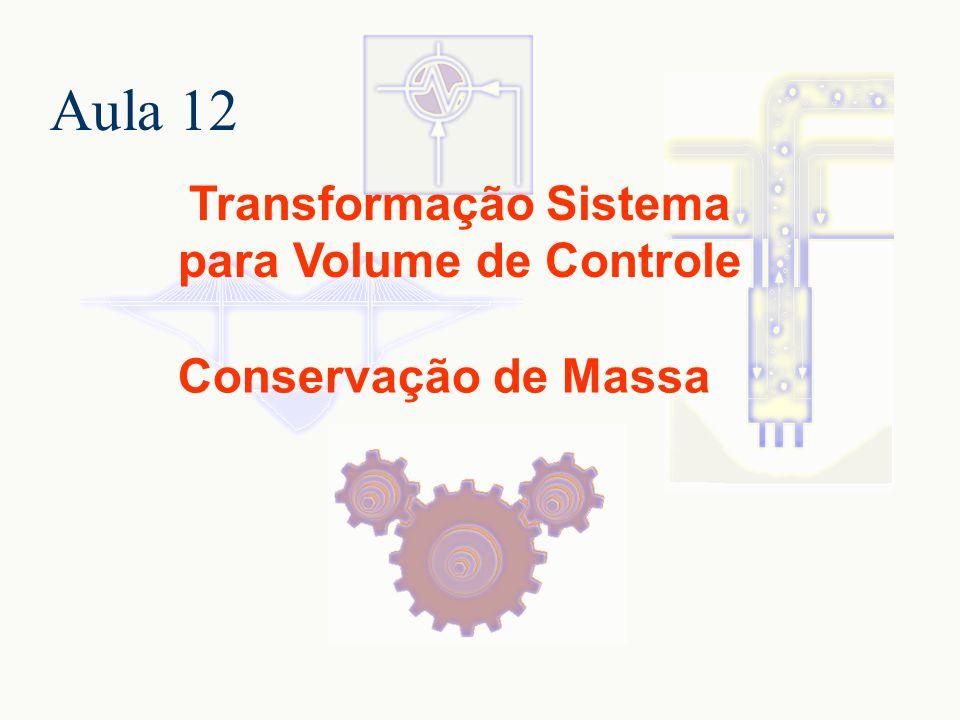 Transformação Sistema para Volume de Controle