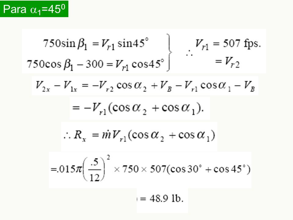 Para a1=450