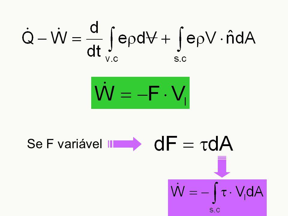 Se F variável