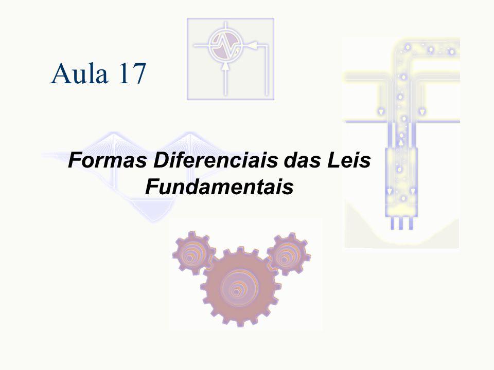 Formas Diferenciais das Leis Fundamentais