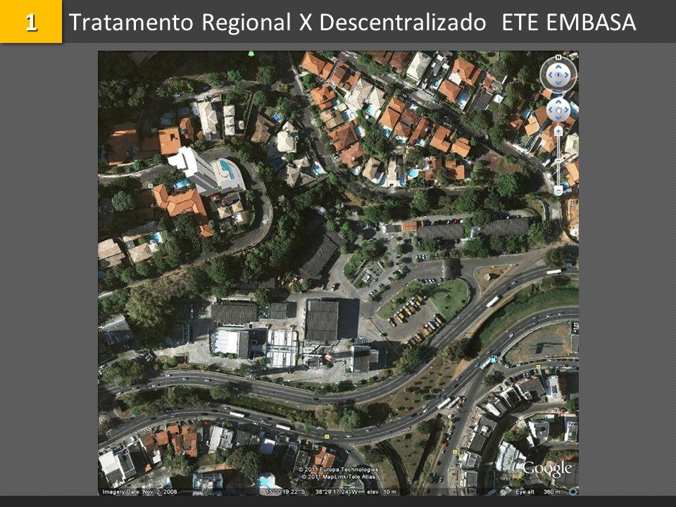 Tratamento Regional X Descentralizado ETE EMBASA
