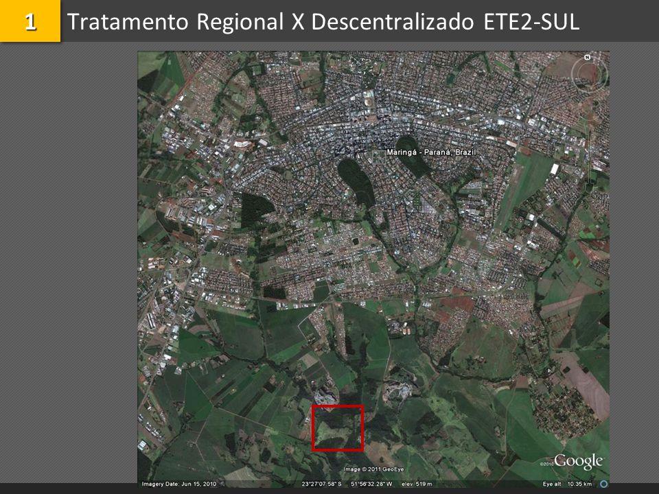 Tratamento Regional X Descentralizado ETE2-SUL