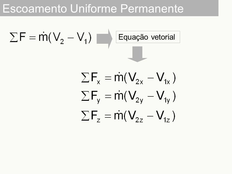 Escoamento Uniforme Permanente