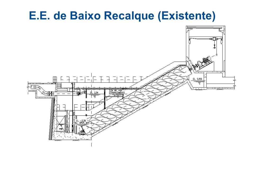E.E. de Baixo Recalque (Existente)