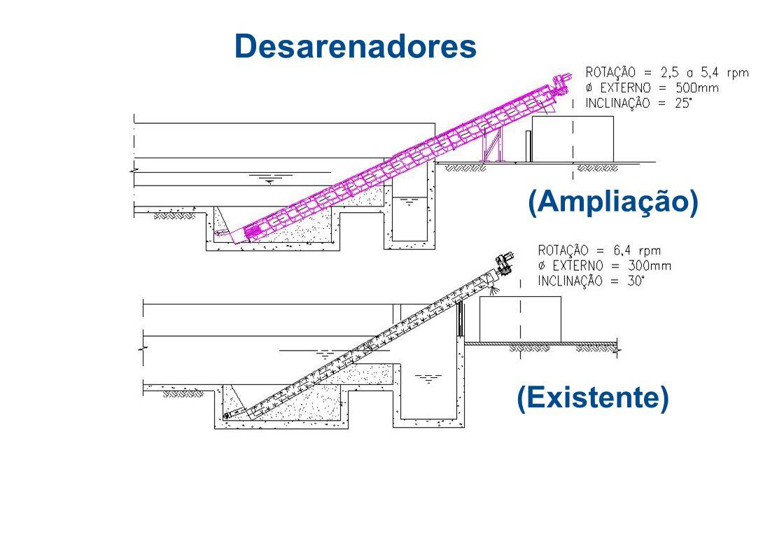 Desarenadores (Ampliação) (Existente)
