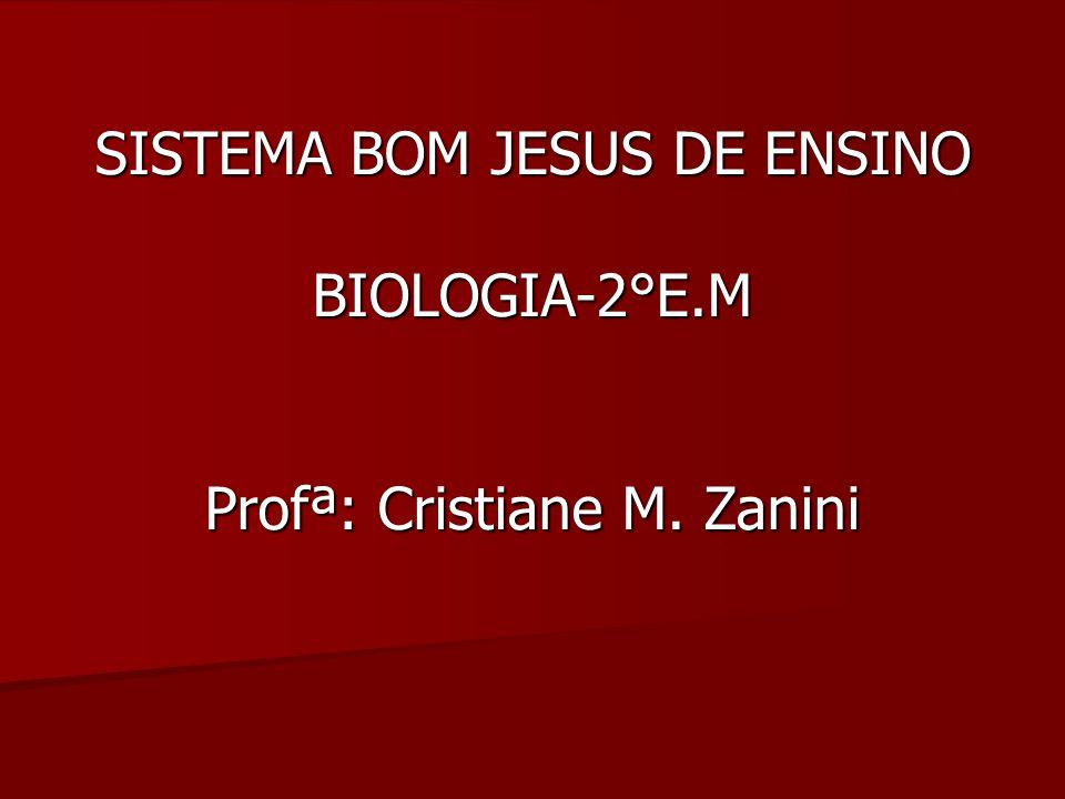 SISTEMA BOM JESUS DE ENSINO BIOLOGIA-2°E.M