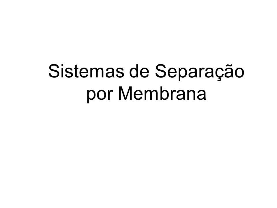Sistemas de Separação por Membrana