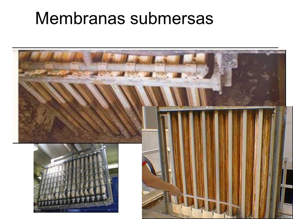 Membranas submersas