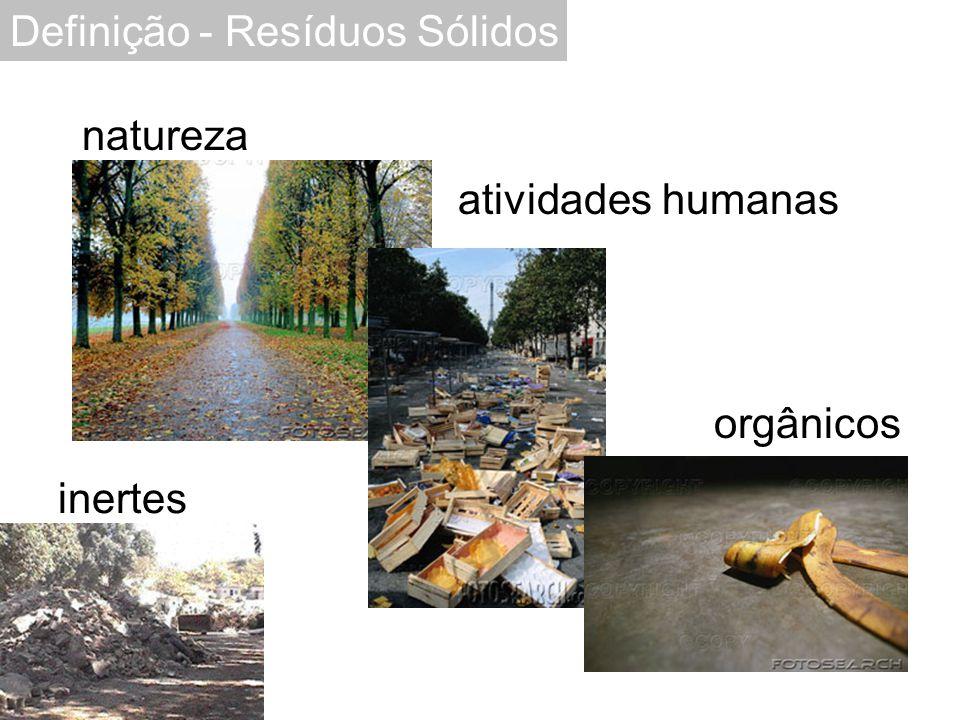 Definição - Resíduos Sólidos