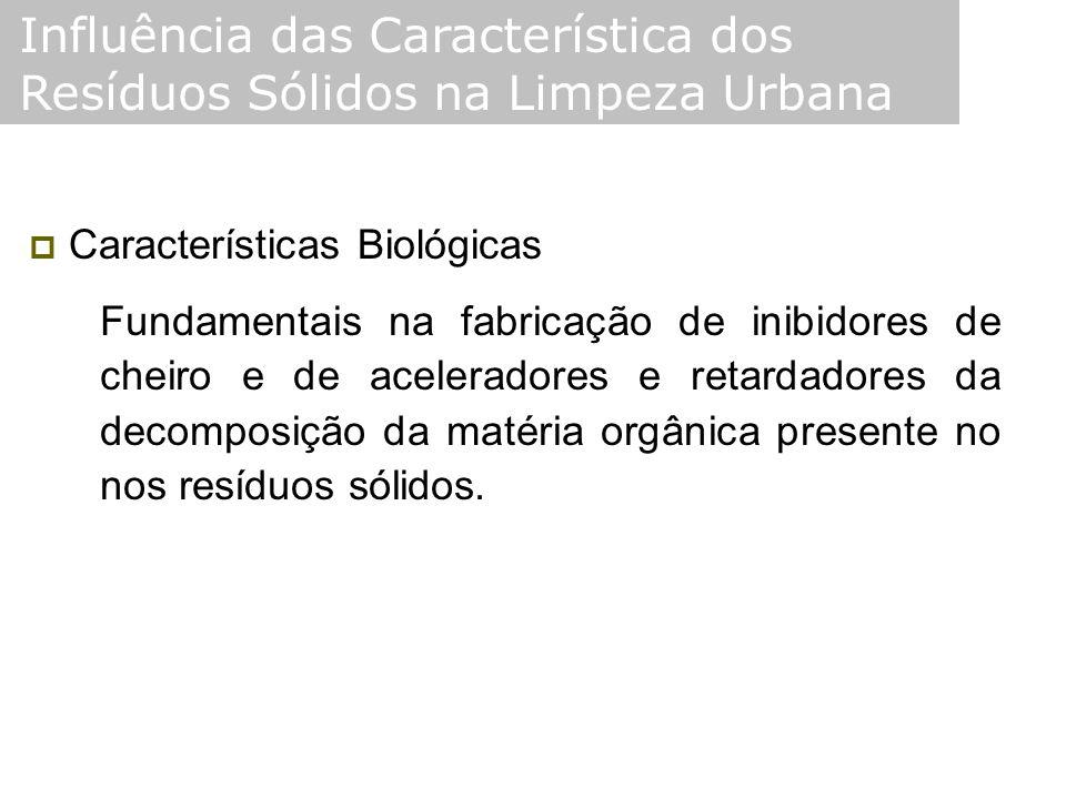 Influência das Característica dos Resíduos Sólidos na Limpeza Urbana