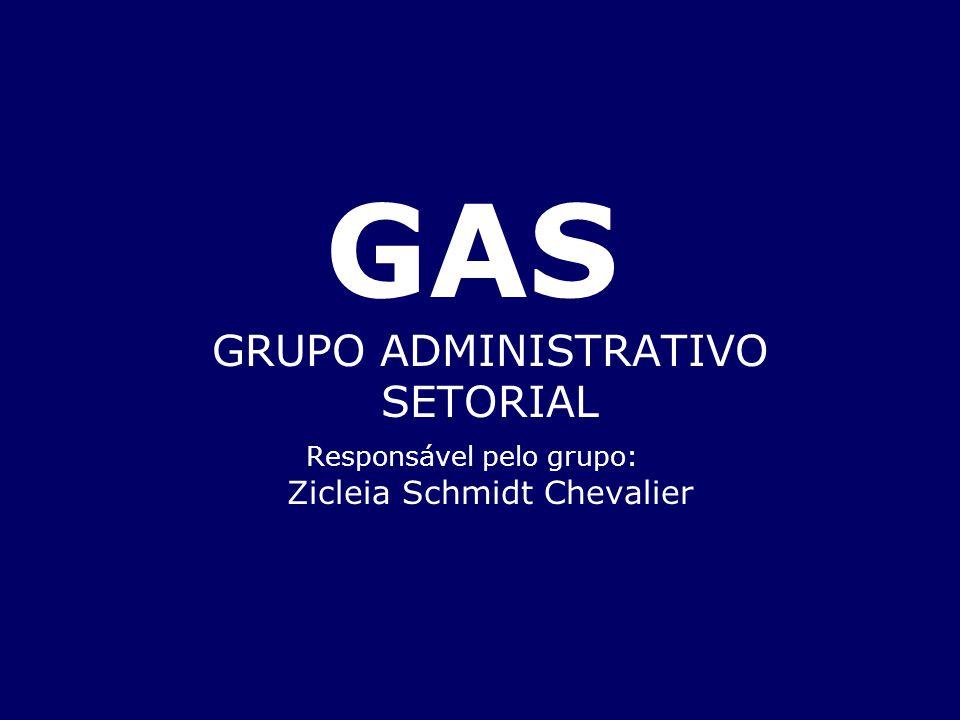 GAS GRUPO ADMINISTRATIVO SETORIAL