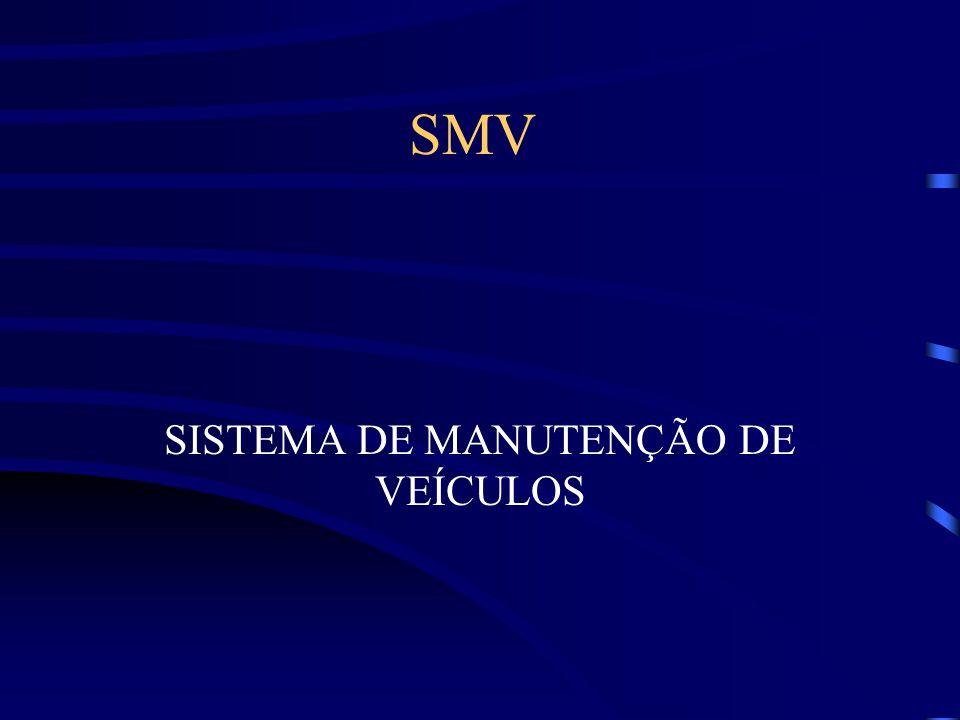 SISTEMA DE MANUTENÇÃO DE VEÍCULOS