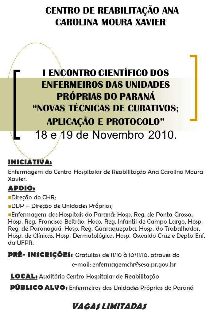 CENTRO DE REABILITAÇÃO ANA CAROLINA MOURA XAVIER