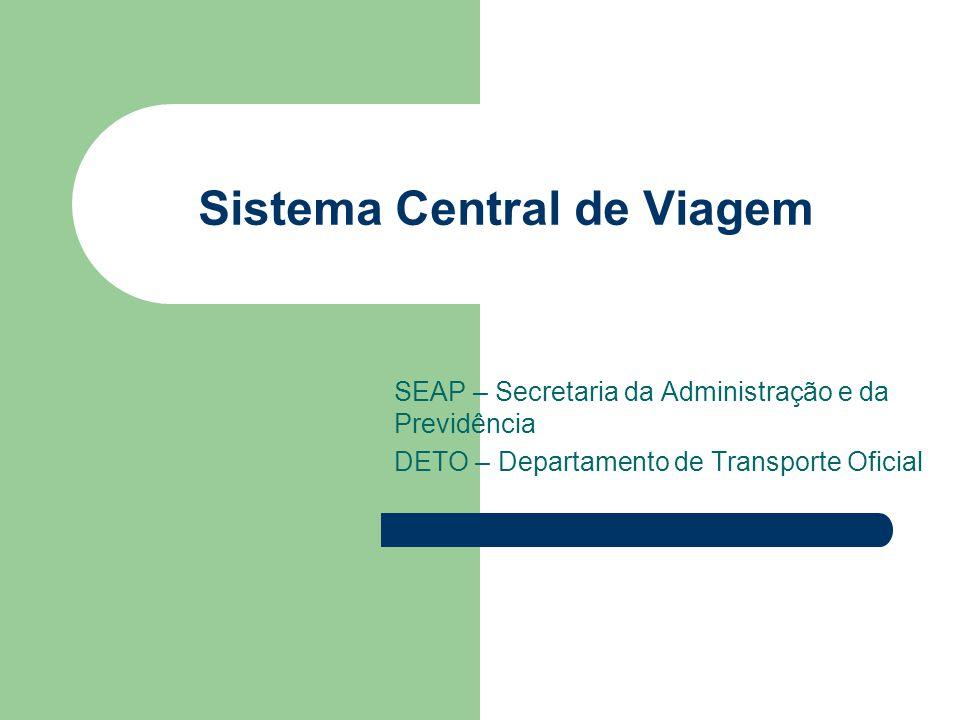 Sistema Central de Viagem
