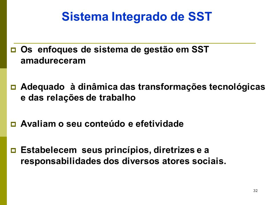 Sistema Integrado de SST