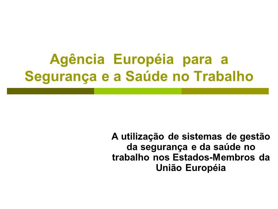 Agência Européia para a Segurança e a Saúde no Trabalho