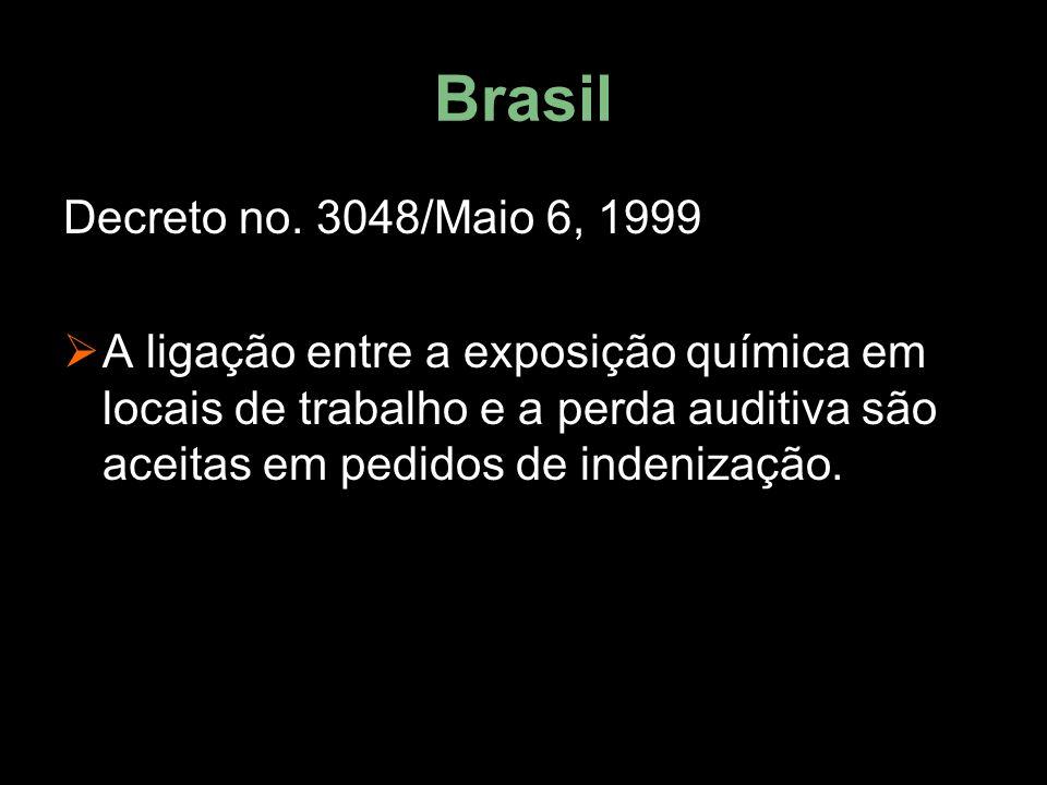 Brasil Decreto no. 3048/Maio 6, 1999