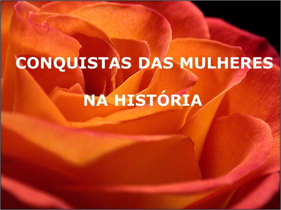 CONQUISTAS DAS MULHERES