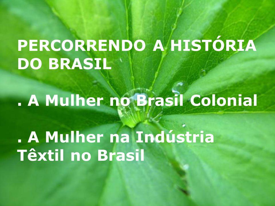 PERCORRENDO A HISTÓRIA DO BRASIL